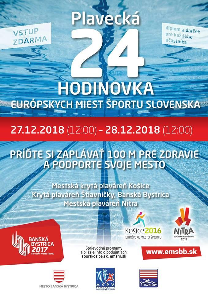 Plavecká 24 hodinovka